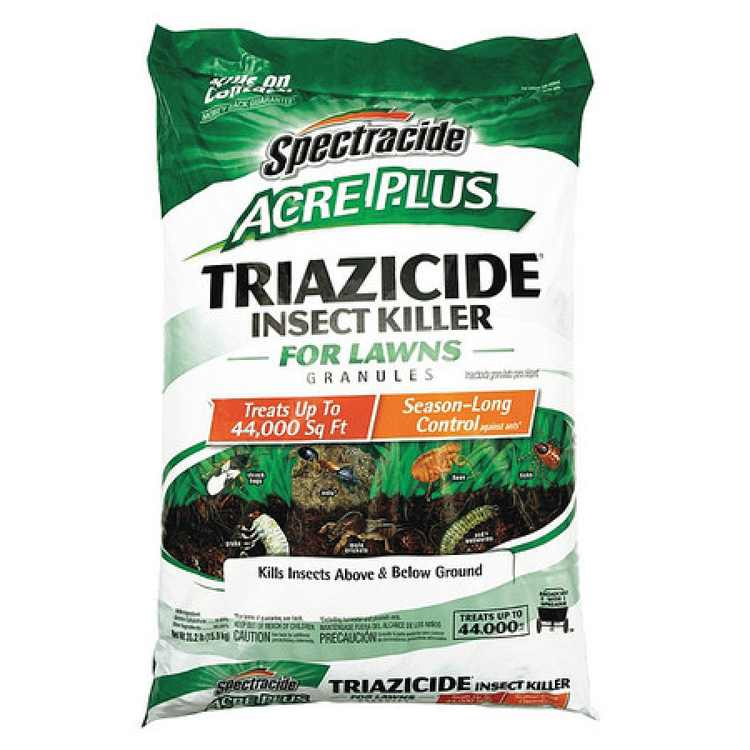 SPECTRUM BRANDS, PET, HOME & GARDEN Acre Plus Triazicide Insect Killer for Lawns, Granules, 35.2-Lbs. HG-96202