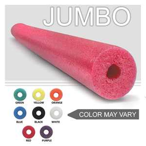 Oodles of Noodles  One Jumbo 55 Inch x 3.5 Inch Pool Noodle For Childrens Bed Rail Random Colors