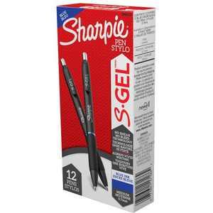 Sharpie, SAN2096152, S-Gel Pens, 12 Per Dozen
