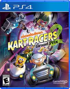 Nickelodeon Kart Racers 2: Grand Prix, GameMill, PlayStation 4, 856131008220