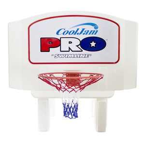 Swimline Super Wide Cool Jam Pro Inground Swimming Pool Basketball Hoop