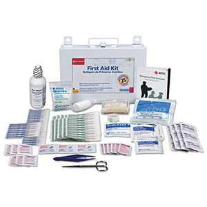First Aid Only First Aid Kit for 25 People, 106-Pieces, OSHA Compliant, Metal Case -FAO224U