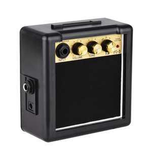 Anself PG-3 3W Electric Guitar Amp Amplifier Speaker Volume Tone Control for Guitar