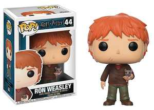 Pop Harry Potter Series 4 Ron Weasley with Scabbers Vinyl Figure (Other)