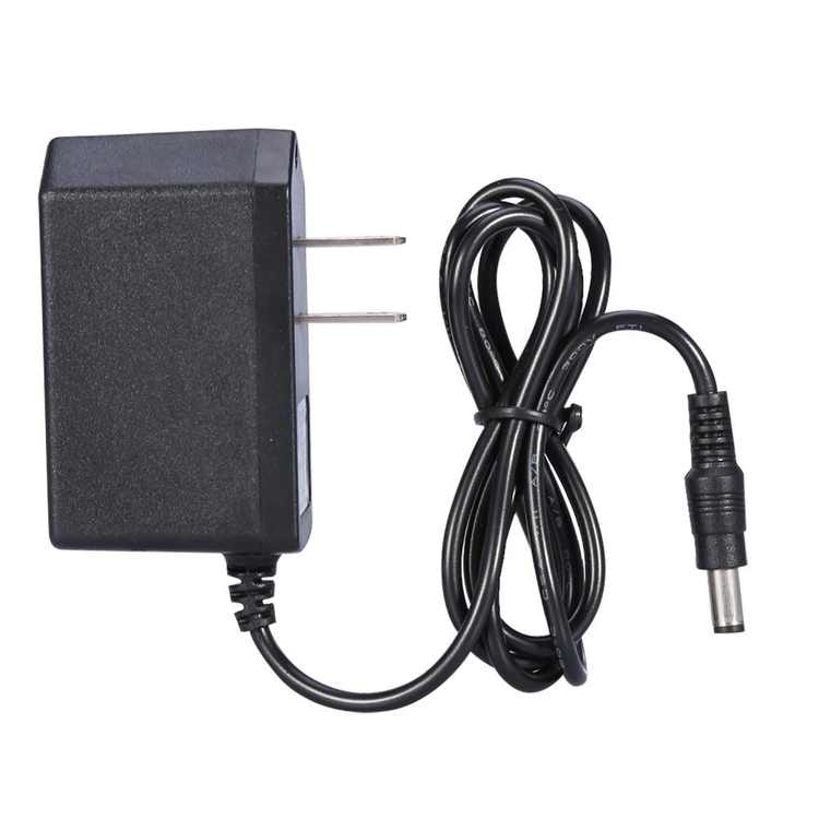 Tebru 12v 1A Adapter, Switching Power for 12V 3528/5050 LED Strip Lights, AC 100v-240v to DC 12v 1A 5.5mm Output Power Adapter with 1.2m Cord Us Wall Adapter (12V1A), DC 12v 1A Us Plug AC Adapter