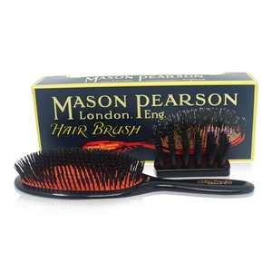 ($335 Value) Mason Pearson Extra Large Pure Bristle Brush with Cleaning Brush
