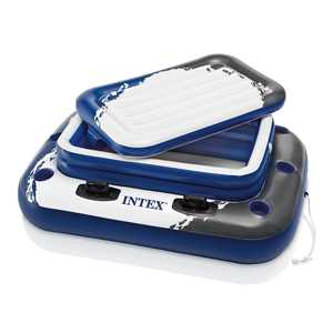Intex Inflatable Mega Chill II 72 Can Beverage Cooler Float With Lid | 58821EP