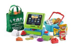 LeapFrog Count Along Cash Register Deluxe With Role-Play Accessories