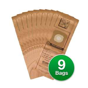 Kirby Genuine Micro Filtration Vacuum Bags For Ultimate G Vacuums - 9 Count