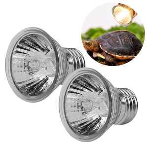 Keenso 75W Heating Light Bulb Aquarium Lamp for Pet Reptile Turtles, Reptile Heating Light, Aquarium Heating LightFor Turtle & Aquatic  Reptile  Habitat
