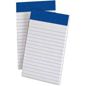 """Ampad Writing Pads, 3"""" x 5"""", Narrow Rule, White, 50 Sheets, 12 Pack"""