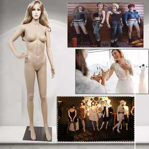 Ktaxon Female Full Body Realistic Mannequin with Base, Skin Color