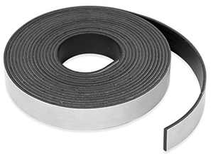 """Master Magnetics Roll-N-Cut Flexible Magnetic Tape Refill - 1/16"""" Thick x 1/2"""" Wide x 15 feet. (1 roll), 07518"""