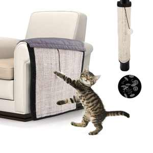 Cat Scratching Mat, Natural Sisal Cat Scratcher Mat, Pet Scratch Protector and Sofa Couch, Cat Scratching Pads Cover to Prevent Furniture Scratch, Cat Couch Protector Guards