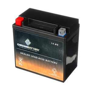 Atv Battery Ytx14-Bs For Honda Trx500Fa Fourtrax Rubicon 500Cc Years (2001-2014)