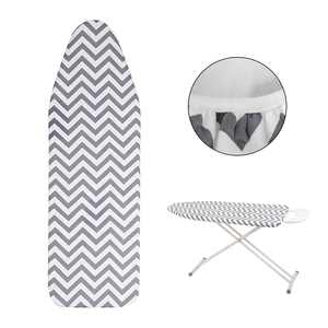 """EEEkit Silicone Ironing Board Cover and Pads-Resists Scorching and Staining-15""""x54"""", Heavy Duty and Durable Heat Reflective Ironing Board Pads with Elastic Edges for Standard Width Ironing Boards"""