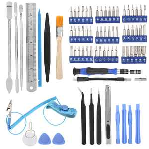 Tbest 80 In 1 Electronic Opening Repair Hand Tool Kit Screwdriver Set for Phone Laptop PC