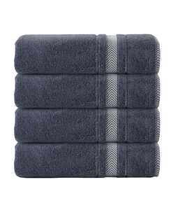 Enchante Home Turkish Cotton 4-Pc. Bath Towel Set
