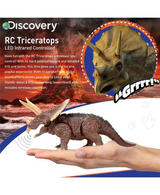 Toy RC Triceratops - Dinosaur Toy