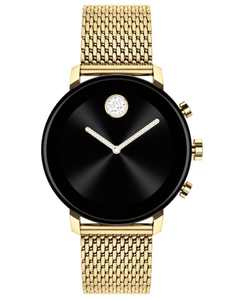 Connect 2.0 Gold-Tone Stainless Steel Mesh Bracelet Touchscreen Smart Watch 40mm