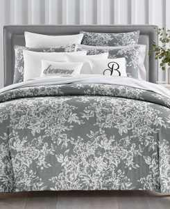 CLOSEOUT! Woven Floral 300-Thread Count Bedding Collection, Created for Macy's