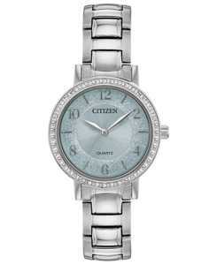 Women's Quartz Stainless Steel Bracelet Watch 31mm