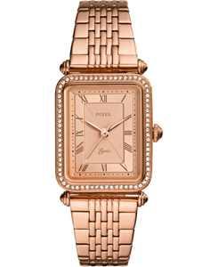 Women's Lyric Rose Gold-Tone Stainless Steel Bracelet Watch 23x28mm