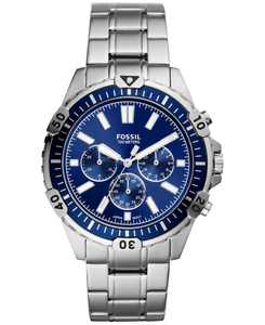 Men's Chronograph Garrett Stainless Steel Bracelet Watch 44mm