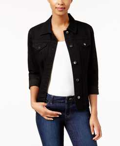 Petite Denim Jacket, Created for Macy's