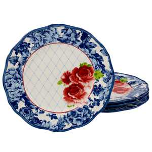 The Pioneer Woman Heritage Floral Dinner Plates, Set of 4