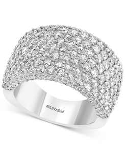LIMITED EDITION! EFFY Diamond Cluster Statement Ring (3-1/2 ct. t.w.) in 14k White Gold