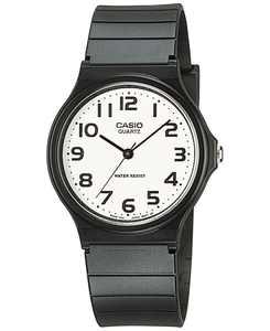 Unisex Black Resin Strap Watch 35mm