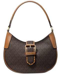 Lillian Signature Logo Shoulder Bag
