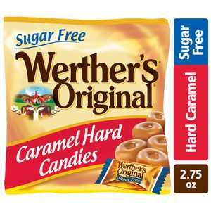 Werthers Original Hard Sugar Free Caramel Candy, 2.75 Oz