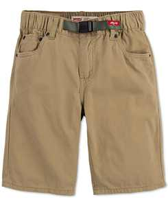 Little Boys 502 Regular-Tapered Fit Twill Camp Shorts