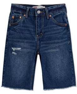 Big Boys UnBasic 511 Slim-Fit Distressed Denim Shorts