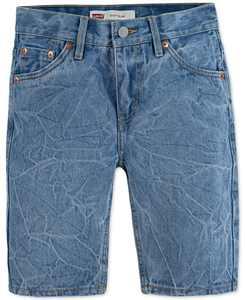 Little Boys UnBasic 511 Slim-Fit Distressed Denim Shorts