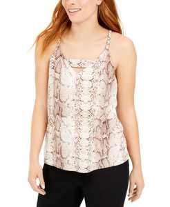 Snakeskin-Print Tank Top, Created for Macy's