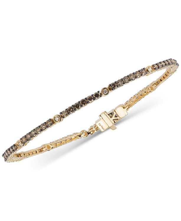 Chocolatier Diamond Tennis Bracelet (2-1/2 ct. t.w.) in 14k Gold