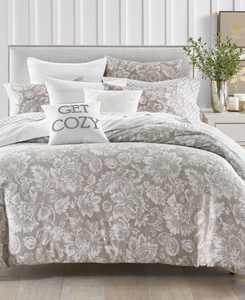 Jacobean 300-Thread Count 3-Pc. Full/Queen Comforter Set, Created for Macy's