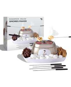 Electric Tabletop S'mores Maker for Indoors, 6 Piece Set