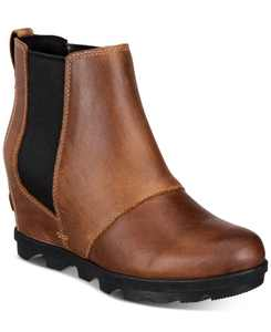 Women's Joan of Arctic Wedge II Waterproof Lug Sole Chelsea Booties