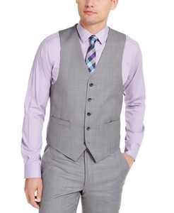 Men's Classic-Fit Airsoft Stretch Suit Vest