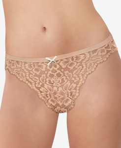 Women's Sexy Must Haves Allover Lace Bikini DMCLBK