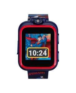 Kids PlayZoom DC Comics Superman Strap Touchscreen Smart Watch 42x52mm