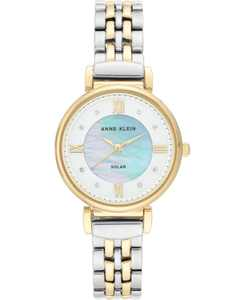 Women's Considered Solar-Powered Two-Tone Bracelet Watch 30mm