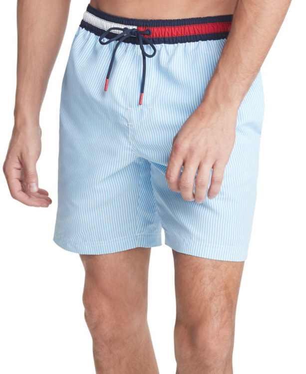 """Men's Ithaca 7"""" Swim Trunks, Created for Macy's"""