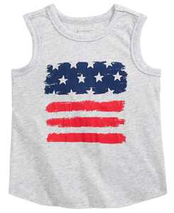 Baby Boys Red & Blue Tank Top, Created for Macy's