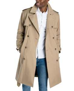 Men's Classic-Fit Double-Breasted Trenchcoat