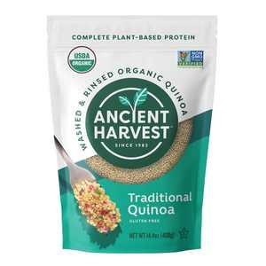 Ancient Harvest Organic, Gluten Free Traditional Quinoa, 14.4 Oz